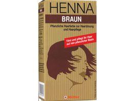 Mueller HENNA Pulver Braun