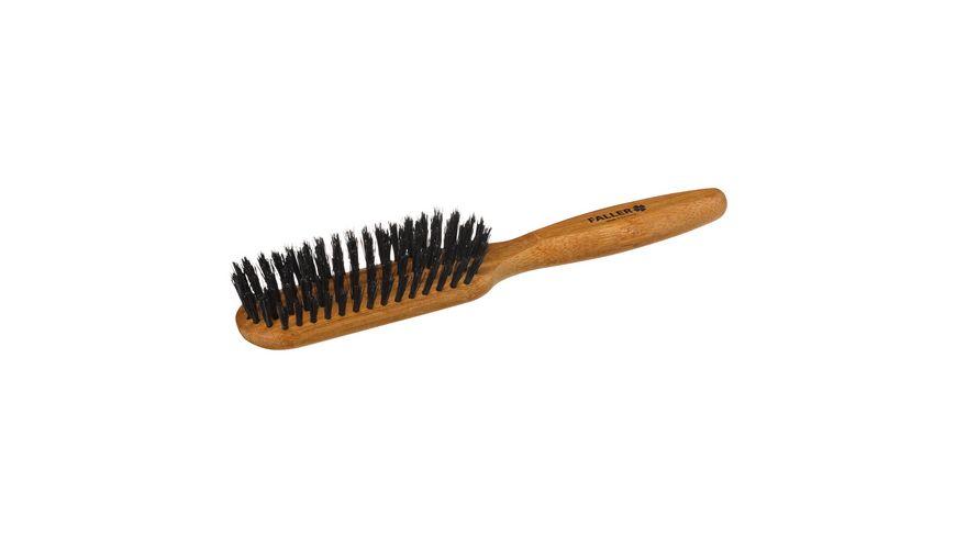 FALLER Haarpflegebuerste Wildschweinborsten
