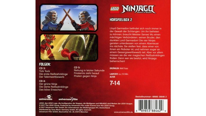LEGO Ninjago Hoerspielbox 2