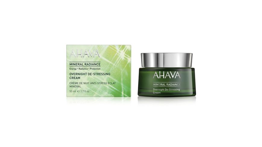 AHAVA Mineral Radiance Overnight Destressing Cream