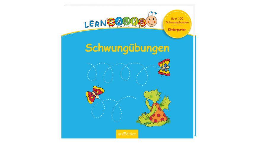 Buch Ars edition Lernraupe Schwunguebungen