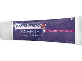 Blend A Med Zahnpasta 3DW LUXE GLAMOROUS WHITE 75ML