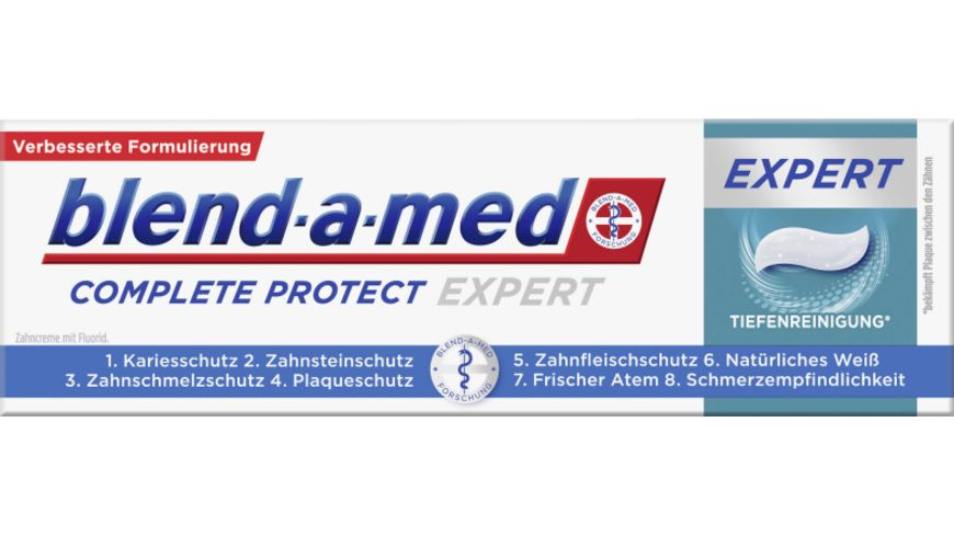 blend a med Complete Protect EXPERT Tiefenreinigung