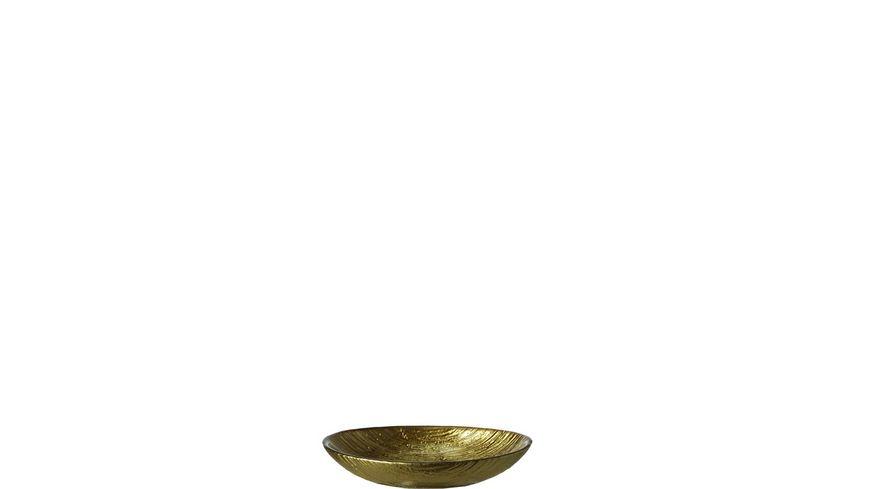 LEONARDO Schale Como oval 18x12 cm oro