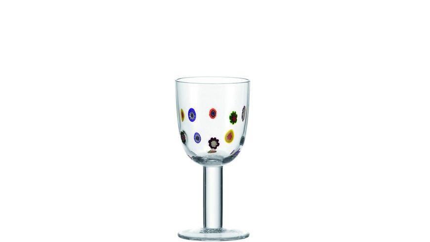 LEONARDO Weissweinglas Millefiori 310 ml