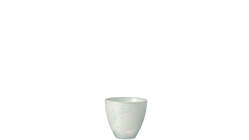 LEONARDO Tischlicht Alabastro 10 cm weiss