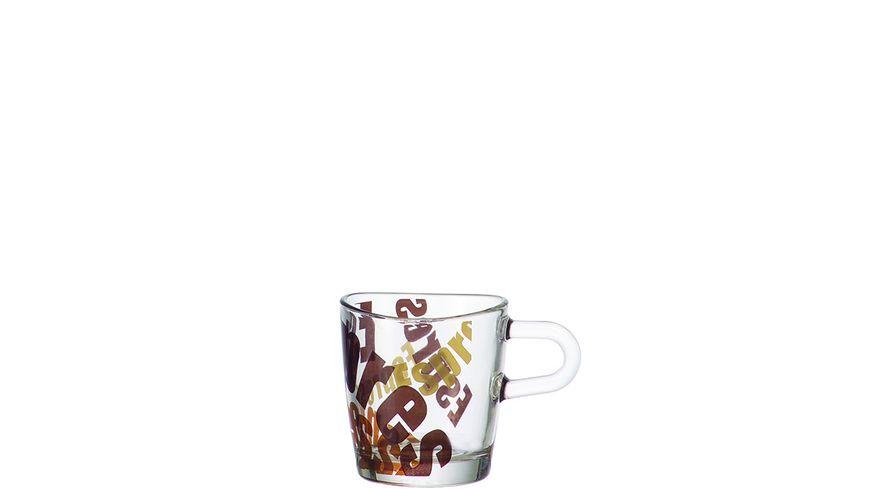 LEONARDO Espressotasse Loop 3 farbig