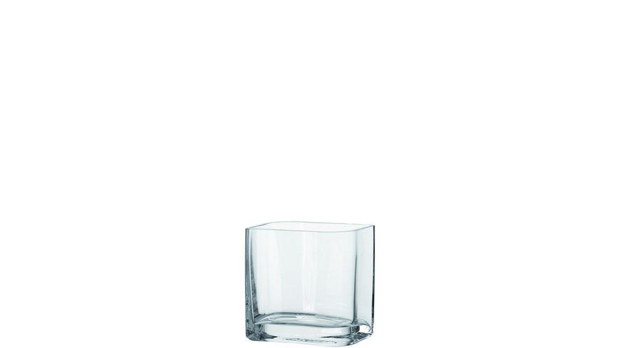 LEONARDO Vase Lucca klar 15 x 15 cm
