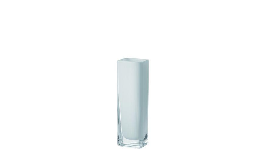 LEONARDO Vase Lucca weiss 25 x 8 cm