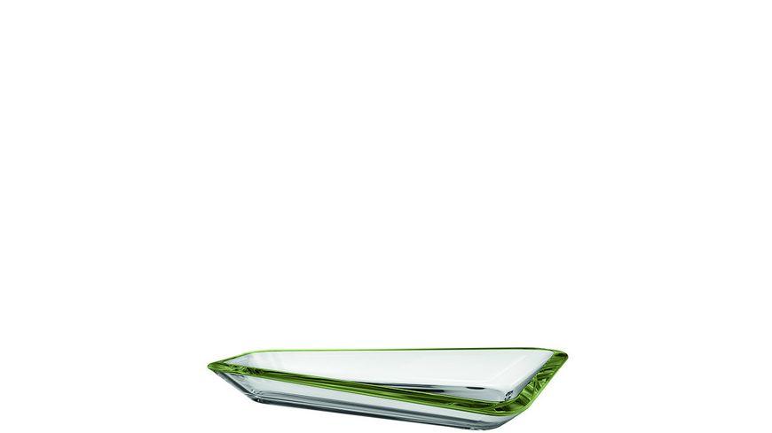 LEONARDO Schale Panarea 36x20 cm verde