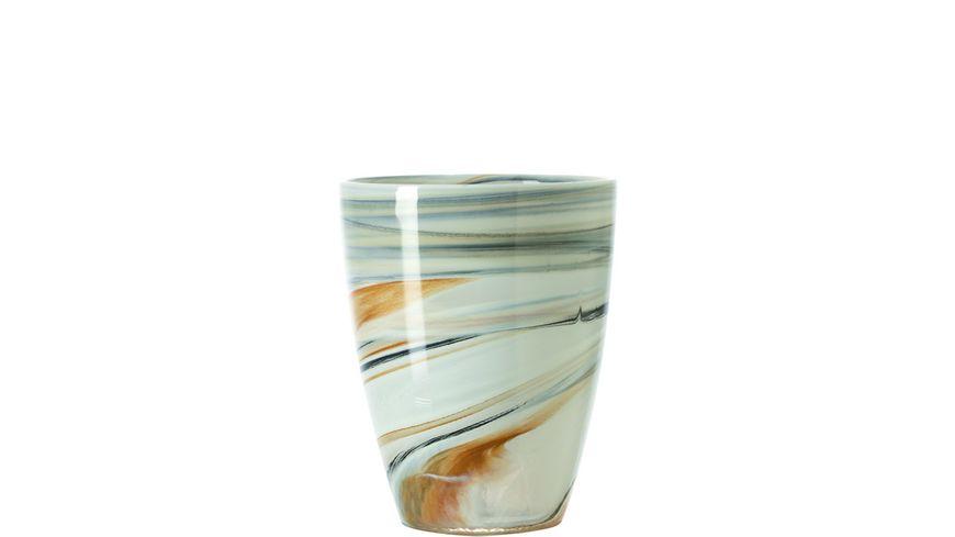 LEONARDO Windlicht Alabastro beige 15 cm