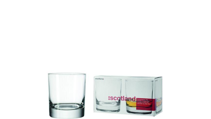 montana Whiskybecher scotland 340 ml 2er Set