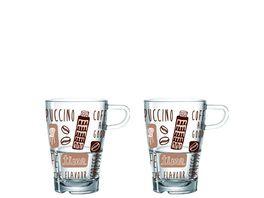 LEONARDO Latte Macchiato Becher LaVita 2er Set