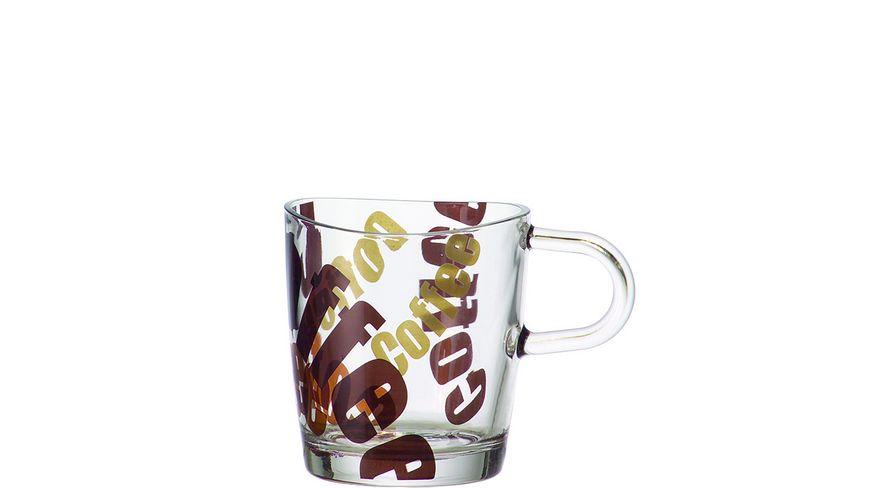LEONARDO Kaffeetasse Loop 3 farbig