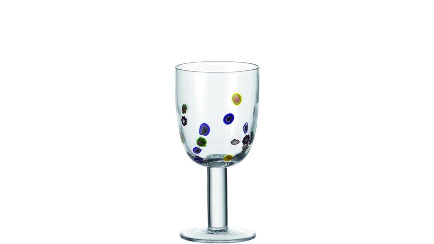 LEONARDO Rotweinglas Millefiori 460 ml