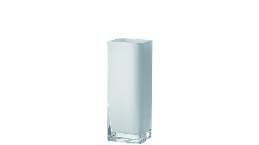 LEONARDO Vase Lucca 30x11 cm weiss