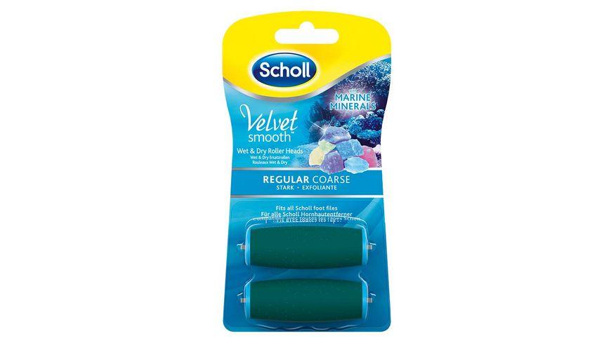 Scholl Velvet Smooth Ersatzrollen Stark mit Meeresmineralien