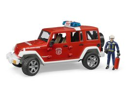 BRUDER Jeep Wrangler Feuerwehr 02528