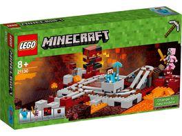 LEGO Minecraft 21130 Die Nether Eisenbahn