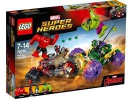 LEGO Marvel Super Heroes 76078 Hulk gegen Red Hulk
