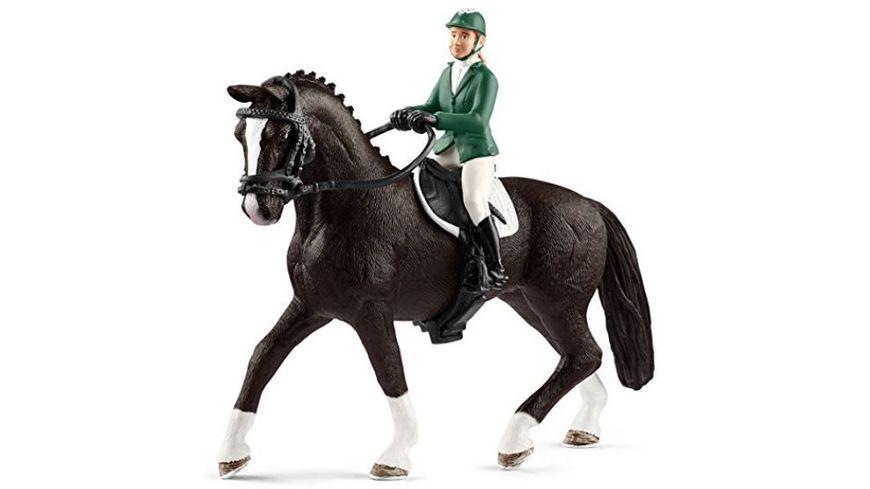 schleich horse club springreiterin mit pferd online. Black Bedroom Furniture Sets. Home Design Ideas