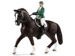 Schleich Horse Club Springreiterin mit Pferd