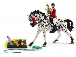 Schleich Horse Club Springreitturnier mit Knabstrupper Stute