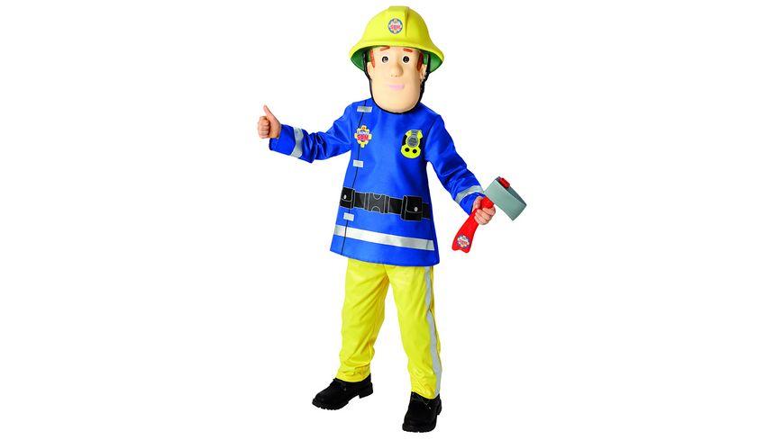 Rubies Fireman Sam Deluxe Child