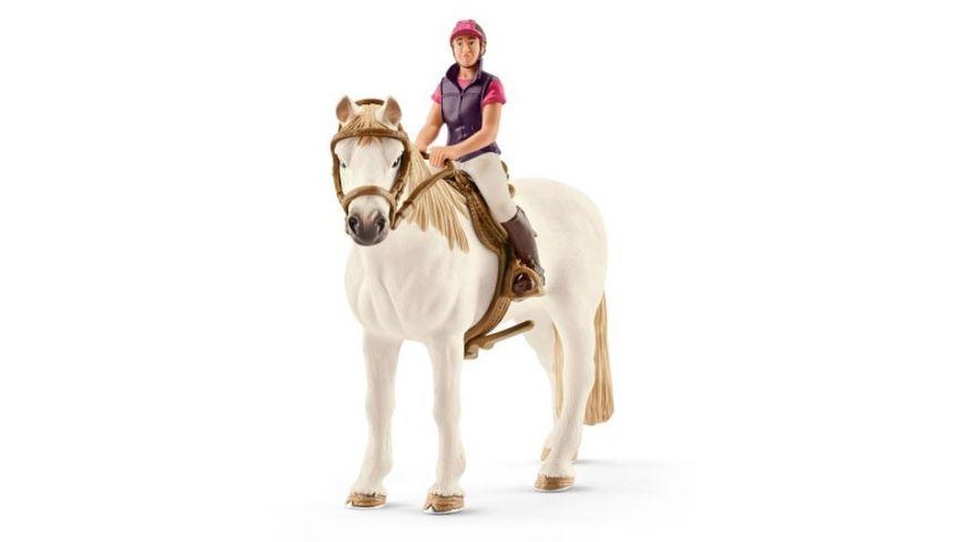 schleich horse club freizeitreiterin mit pferd online. Black Bedroom Furniture Sets. Home Design Ideas