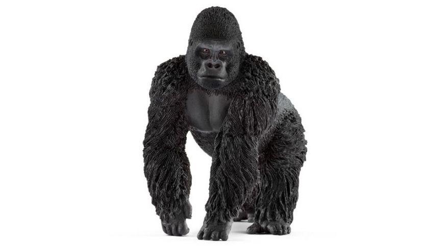 Schleich Wild Life Gorilla Maennchen