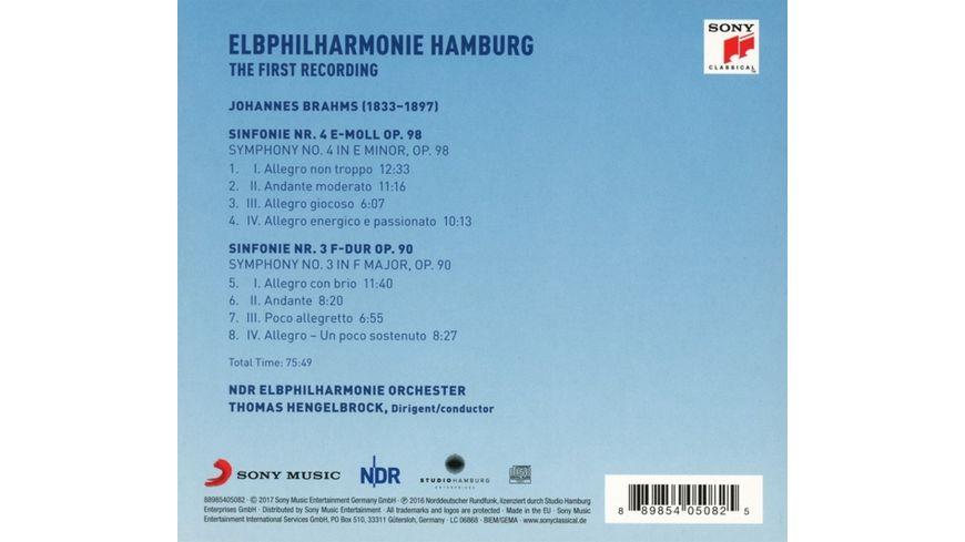 Elbphilharmonie Erste Aufnahme Sinf 3 4
