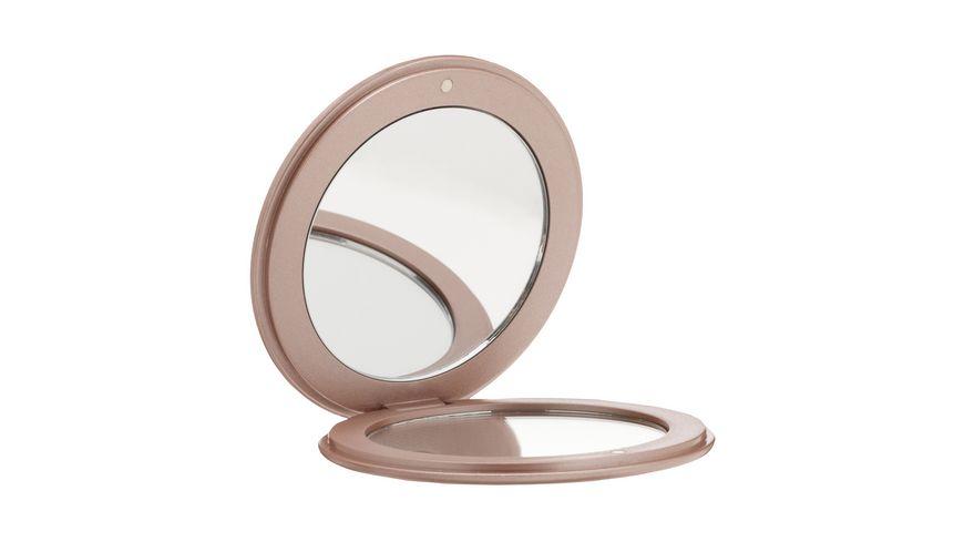 Taschenspiegel Rose Gold mit Swarovski