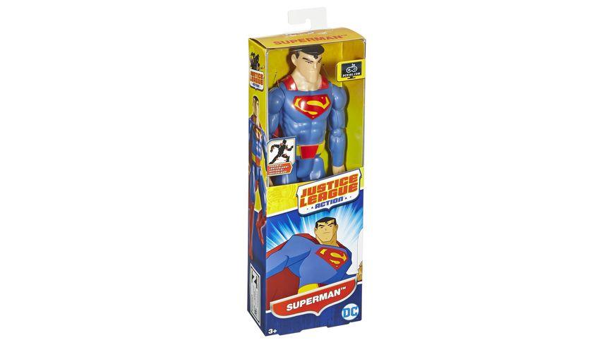 Mattel DC Justice League Basis Figur Superman 30 cm