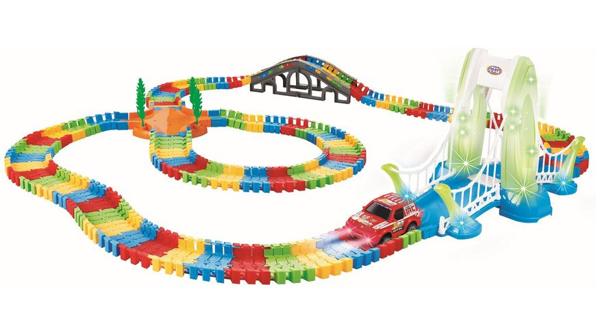 Mueller Toy Place Spielbahn REGENBOGEN Master Set