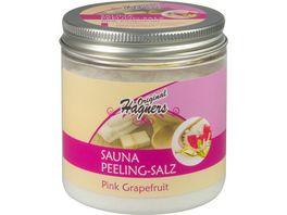 Original Hagners Sauna Peelingsalz Pink Grapefruit