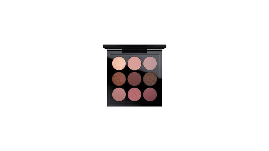 MAC Eye Shadow x 9: Burgundy Times Nine