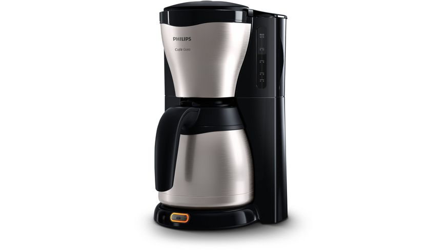 PHILIPS Kaffeemaschine Cafe Gaia HD7546 20 mit Thermokanne
