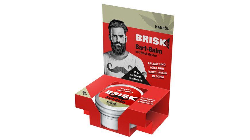 BRISK Bart Balm mit Wachstextur