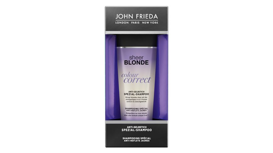 JOHN FRIEDA Colour Correct Anti Gelbstich Spezial Shampoo