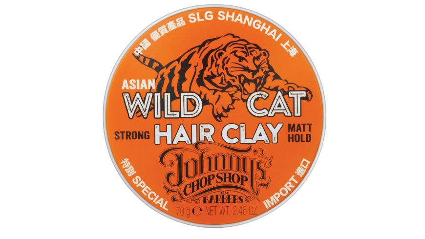 JOHNNY S CHOP SHOP Wild Cat Hair Clay
