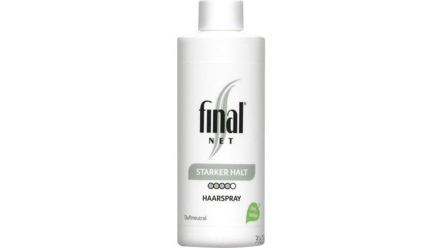 final NET Haarspray starker Halt Nachfuellpack