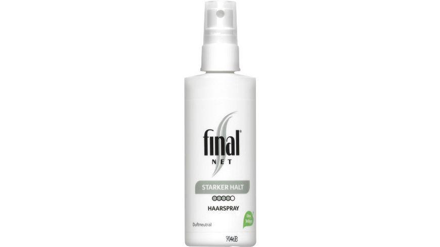 final NET Haarspray starker Halt