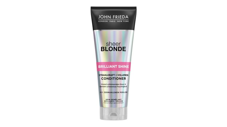 JOHN FRIEDA Brilliant Shine Strahlkraft Volumen Conditioner