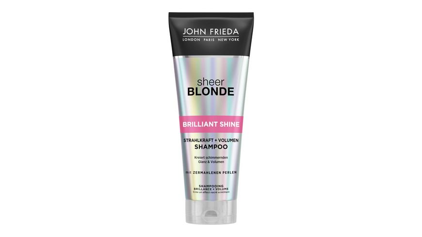 JOHN FRIEDA Brilliant Shine Stahlkraft Volumen Shampoo