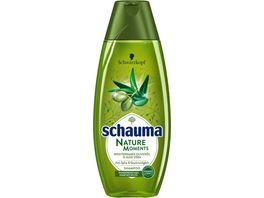 schauma Shampoo Premium Nature Moments Mediterranes Olivenoel Aloe Vera