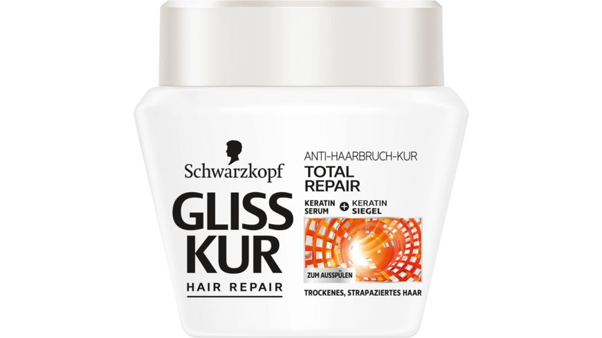 Schwarzkopf GLISS KUR Anti Haarbruch Kur Total Repair