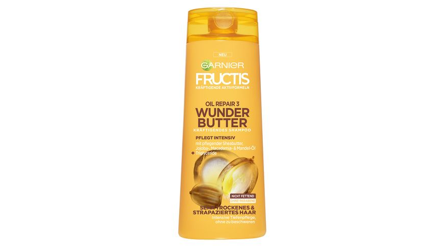 FRUCTIS Shampoo Oil Repair 3 Wunder Butter