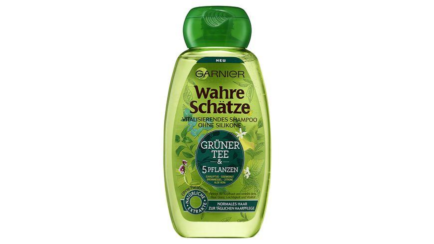 GARNIER Wahre Schaetze Shampoo Gruener Tee Vitalisierend