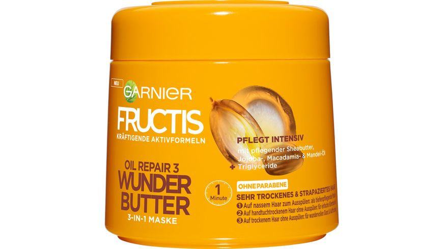 FRUCTIS Oil Repair 3 Wunder Butter 3 in 1 Maske