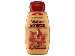 GARNIER Wahre Schaetze Shampoo Ahorn Balsam Intensiv Reparierend